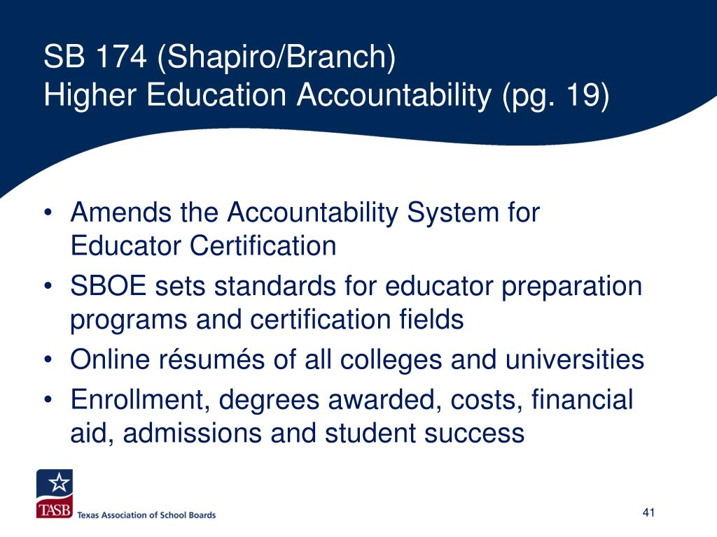 SB 174 (Shapiro/Branch)
