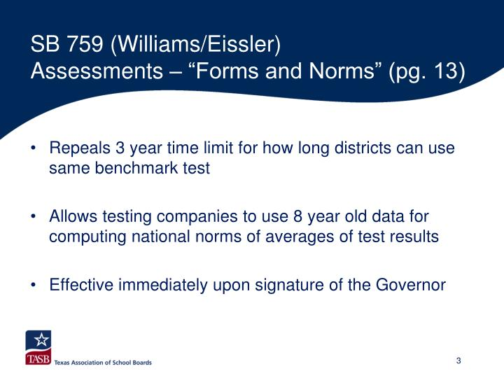 Sb 759 williams eissler assessments forms and norms pg 13