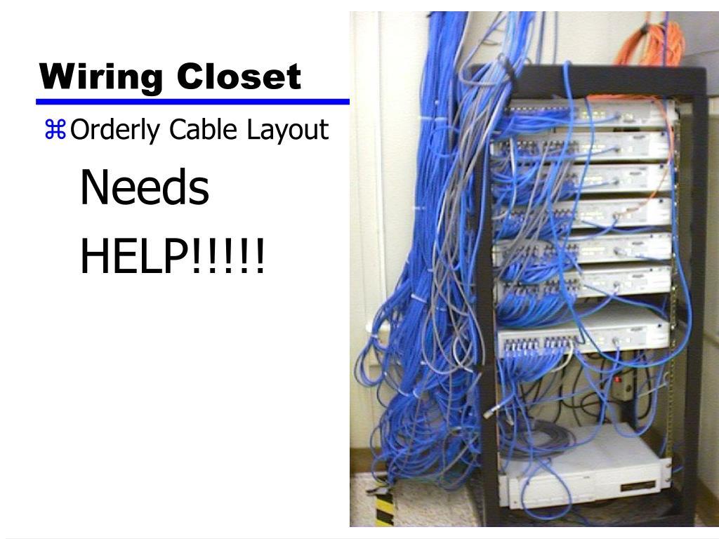 Wiring Closet