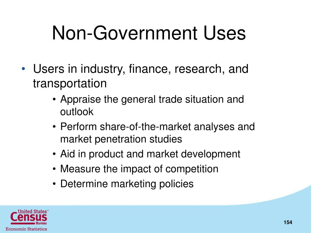 Non-Government Uses