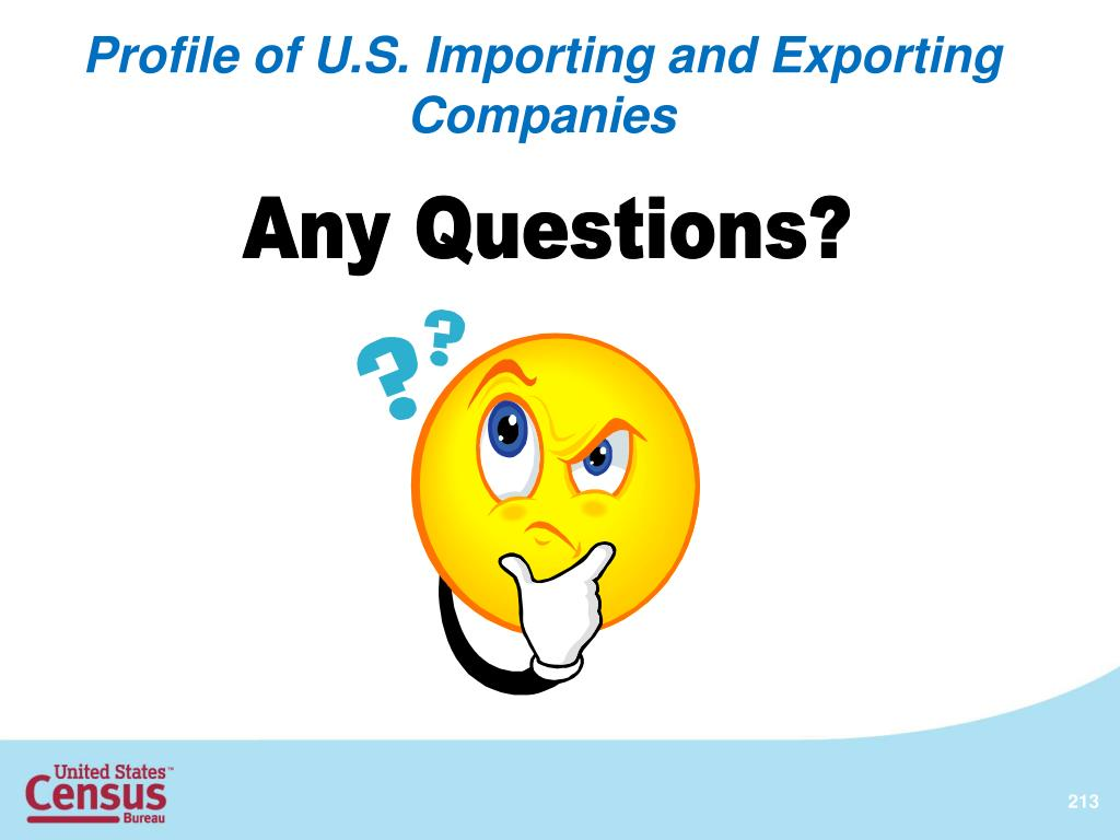 Profile of U.S. Importing and Exporting Companies