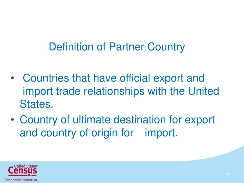 Definition of Partner Country