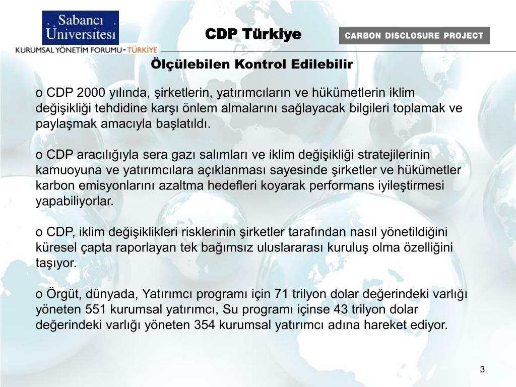 CDP Türkiye
