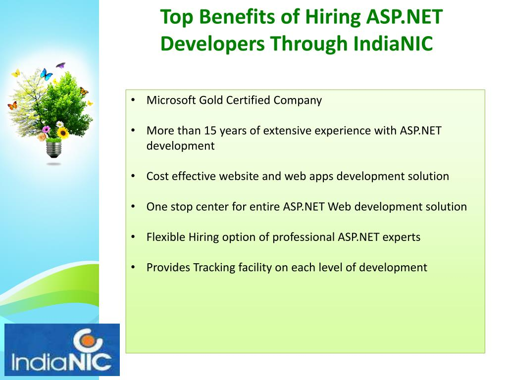 Top Benefits of Hiring ASP.NET Developers Through IndiaNIC