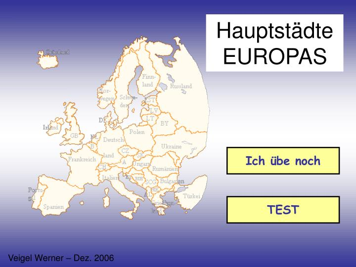 Hauptst dte europas