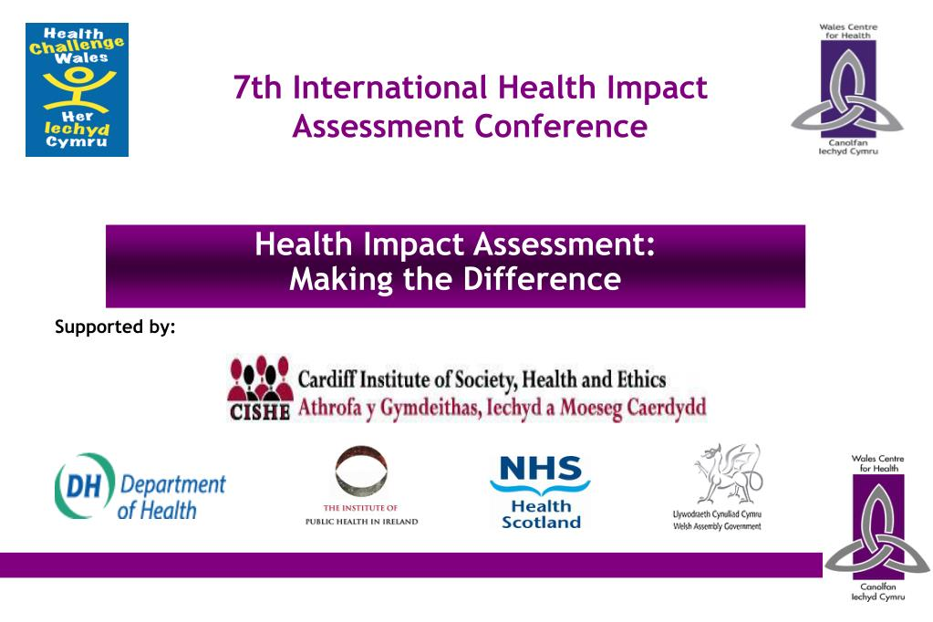 7th International Health Impact Assessment Conference