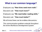 what is our common language