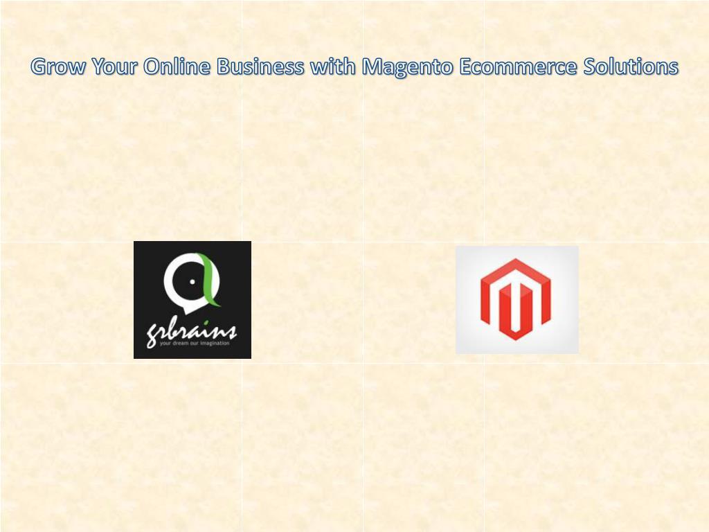 e commerce ppt presentation download pdf