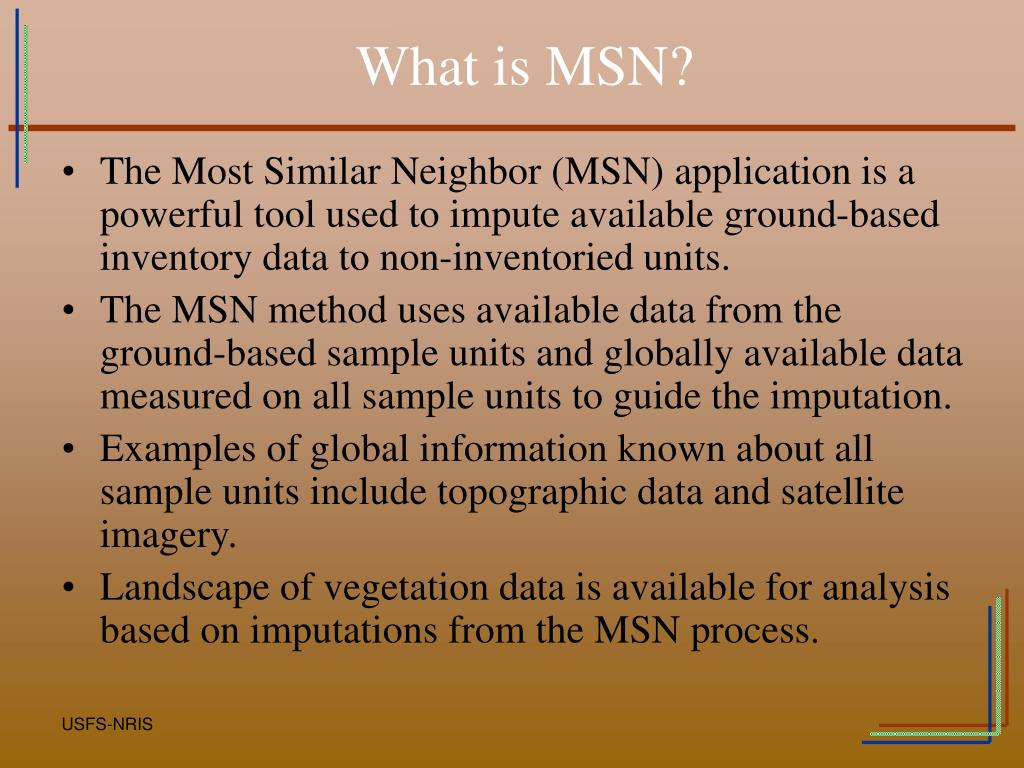 What is MSN?