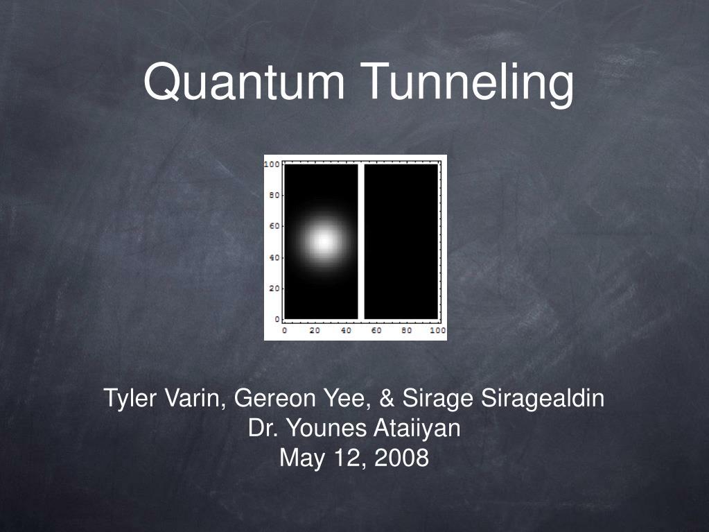quantum tunneling l.
