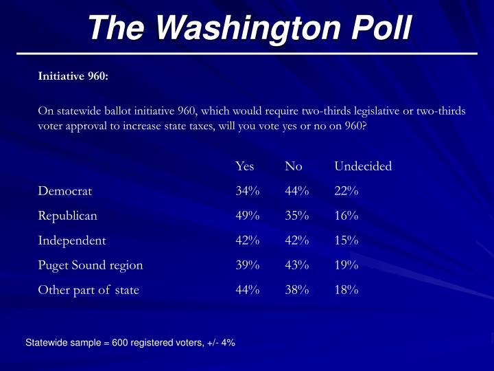 The Washington Poll
