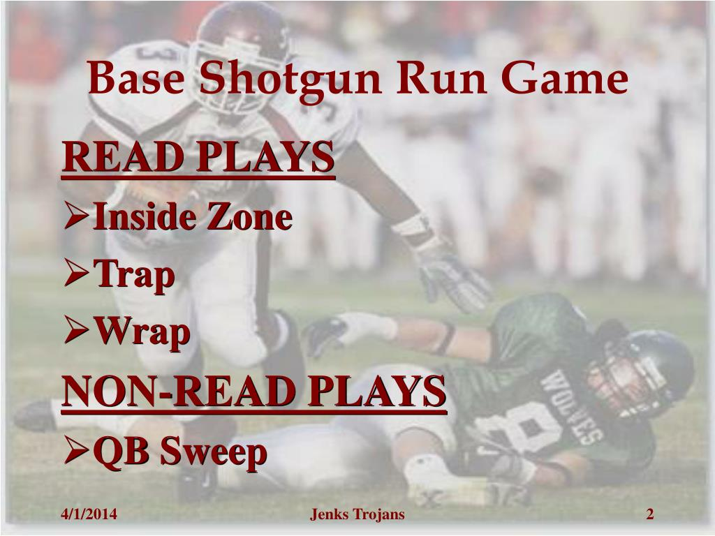 Base Shotgun Run Game