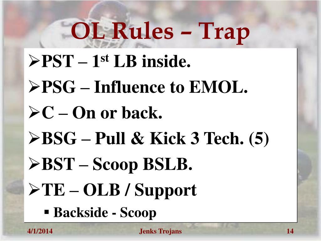 OL Rules – Trap