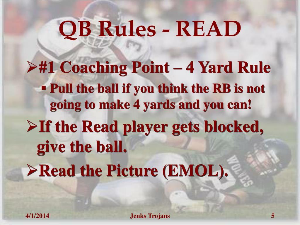 QB Rules - READ