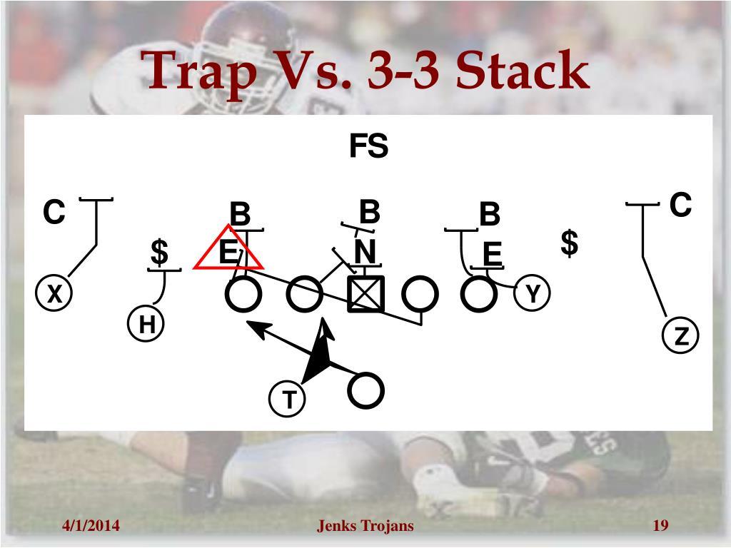 Trap Vs. 3-3 Stack