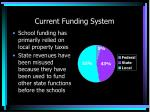 current funding system