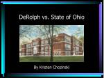 derolph vs state of ohio