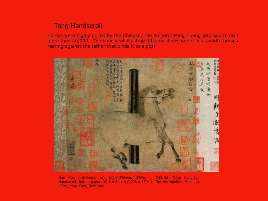 Tang Handscroll