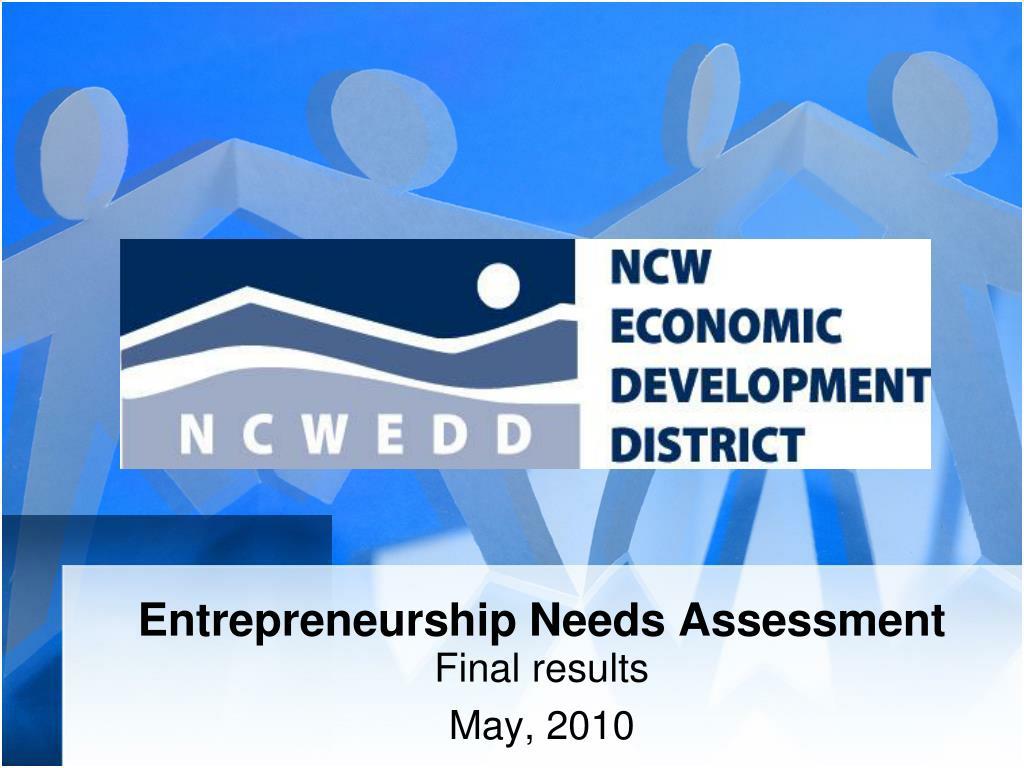 Entrepreneurship Needs Assessment