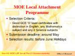 moe local attachment programme3