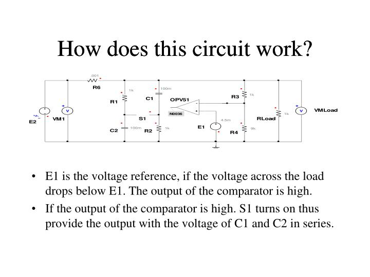 How does this circuit work?