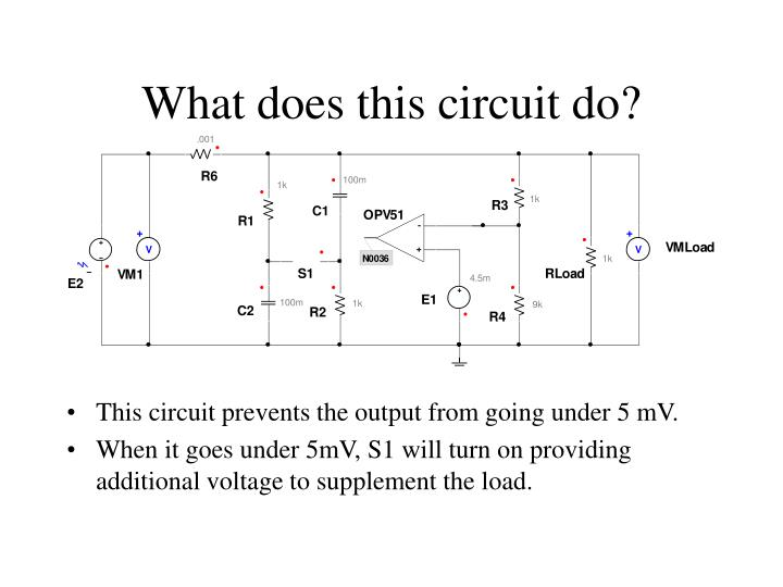 What does this circuit do?