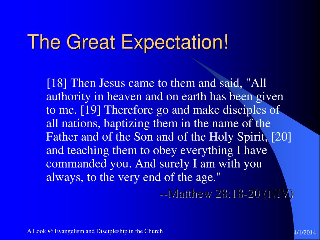 The Great Expectation!