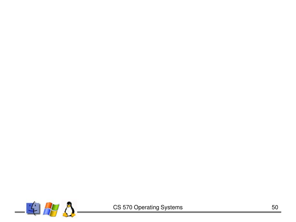 CS 570 Operating Systems