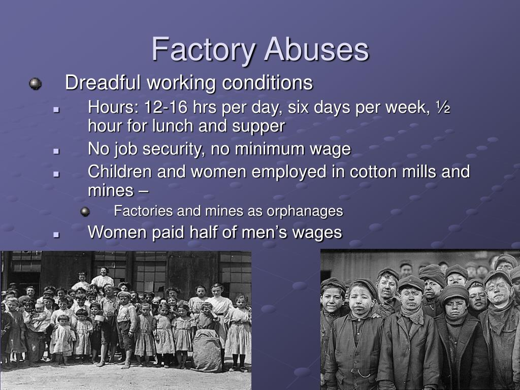 Factory Abuses