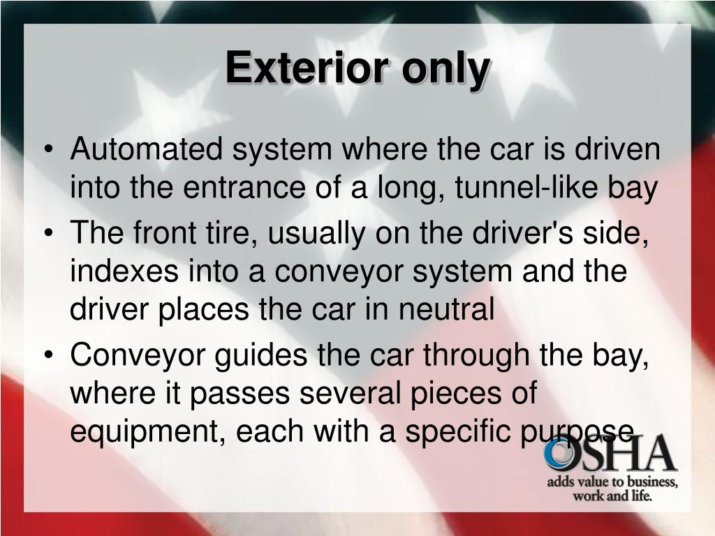 Exterior only