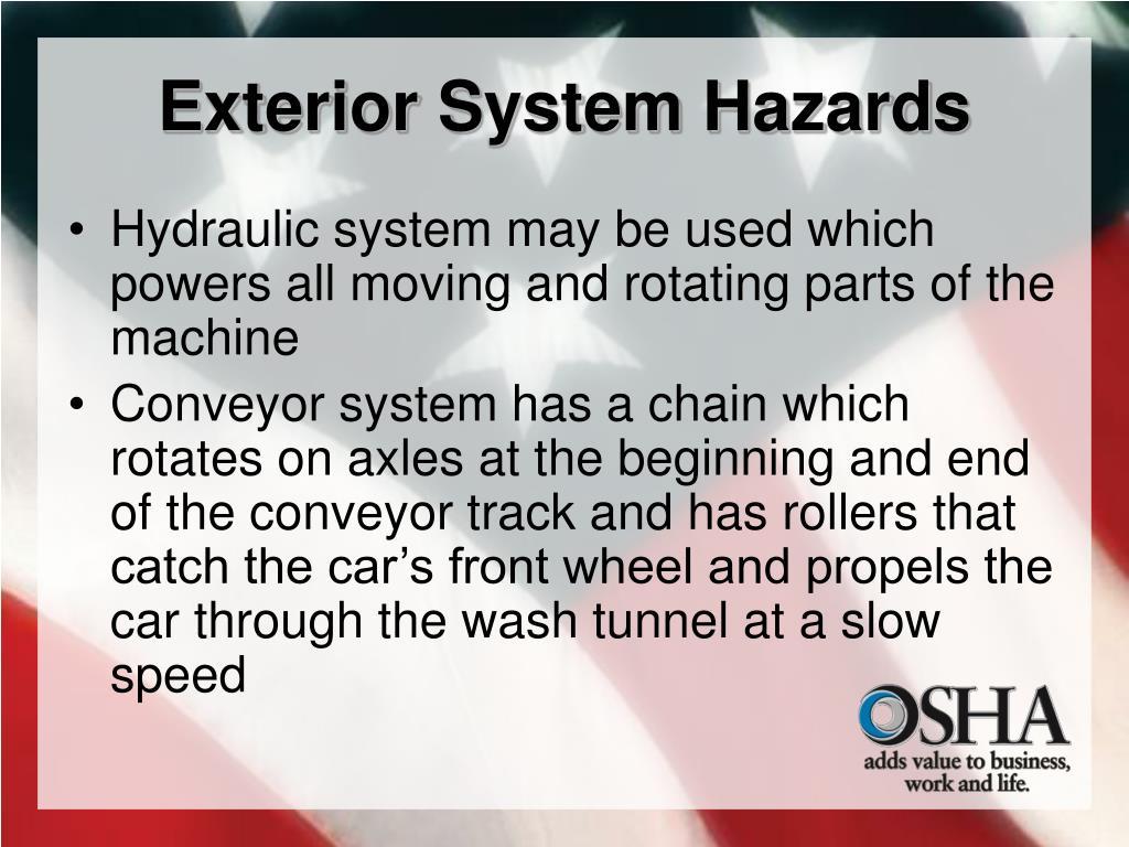 Exterior System Hazards