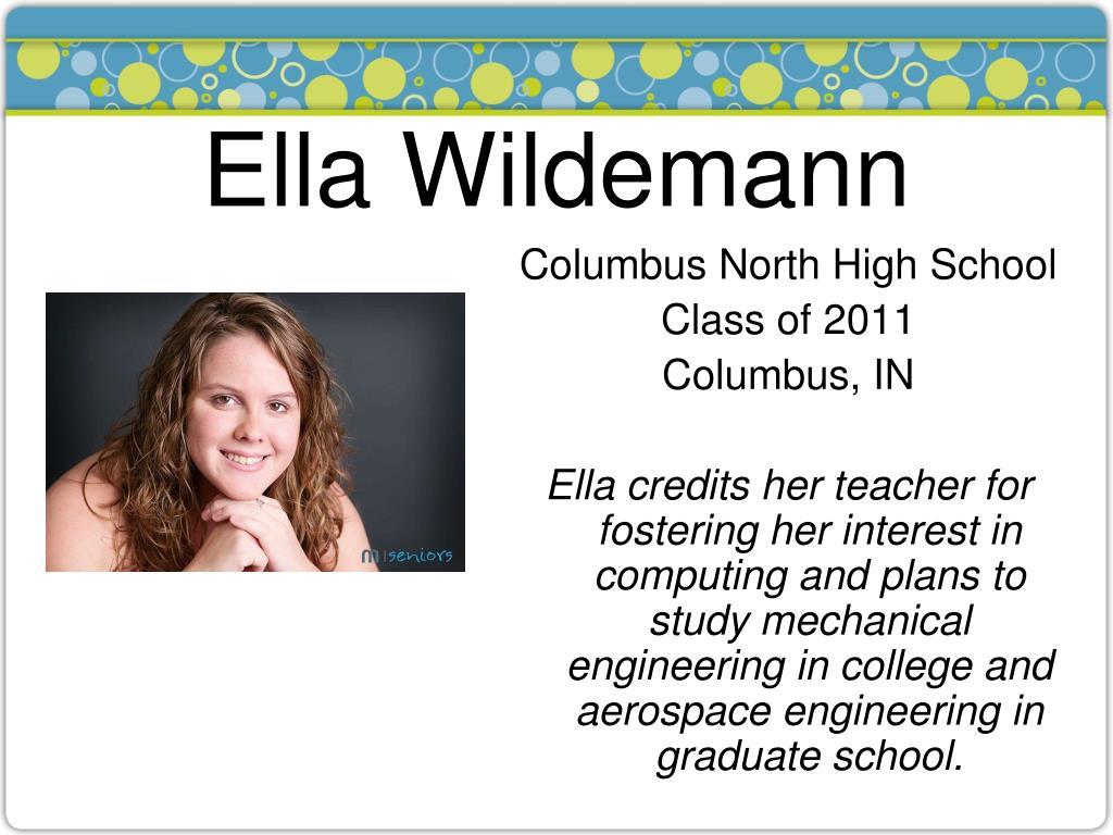 Ella Wildemann