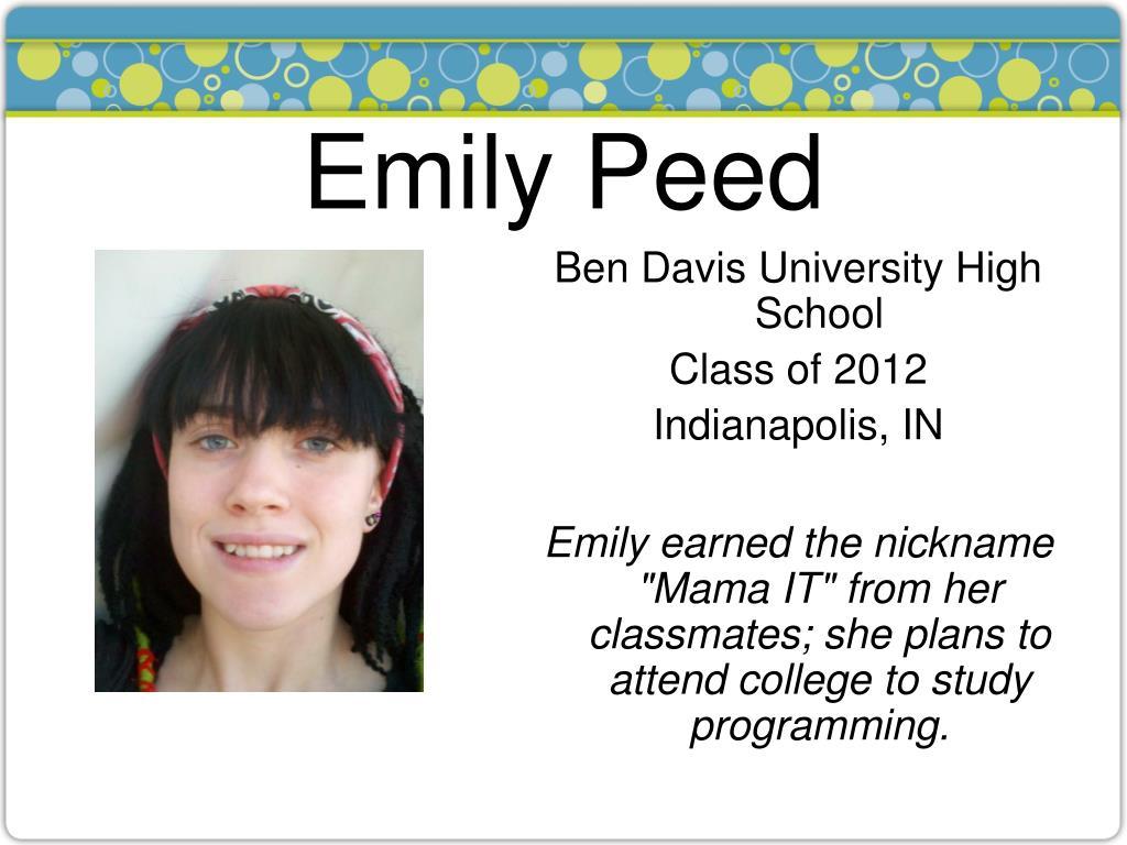 Emily Peed