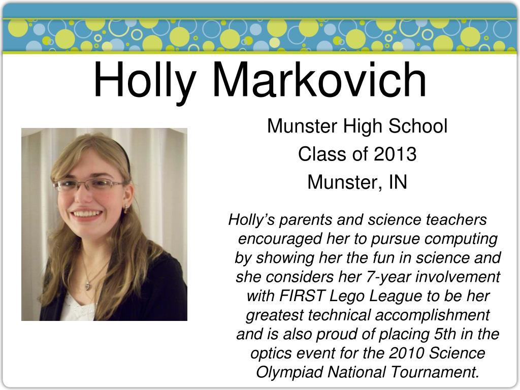 Holly Markovich