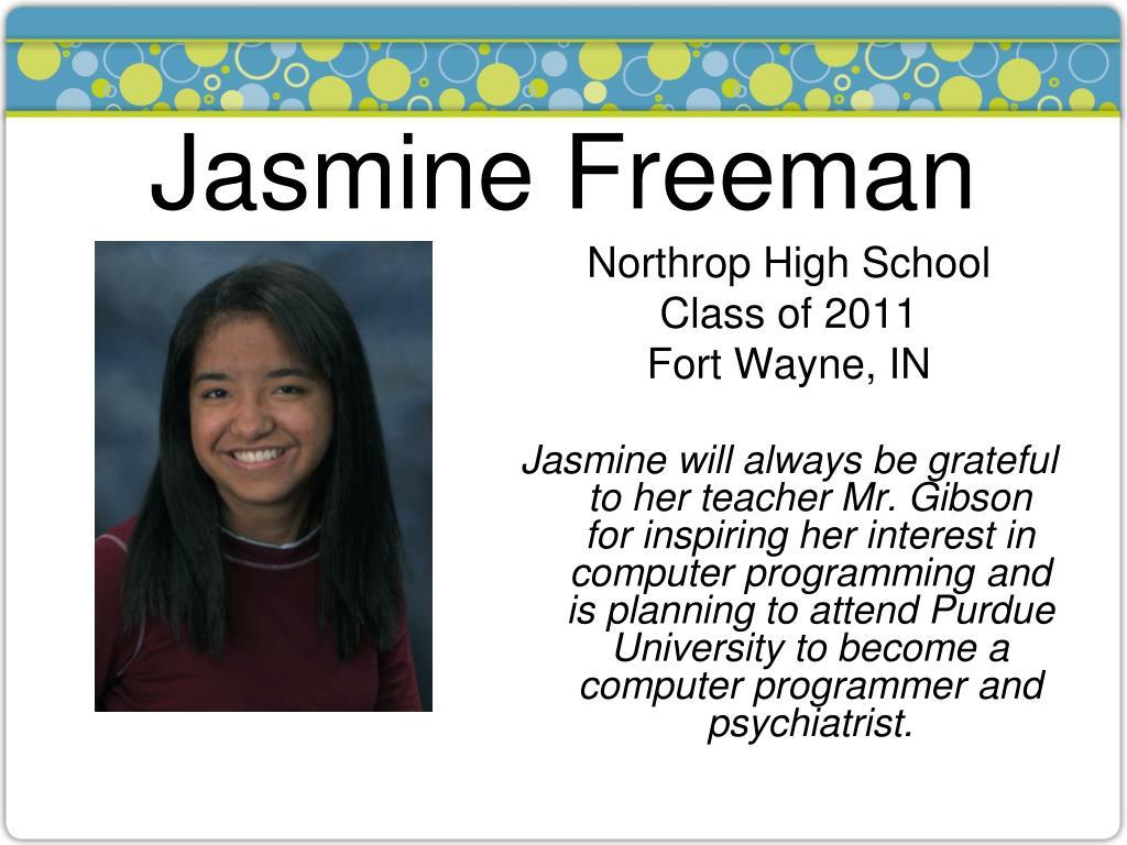 Jasmine Freeman