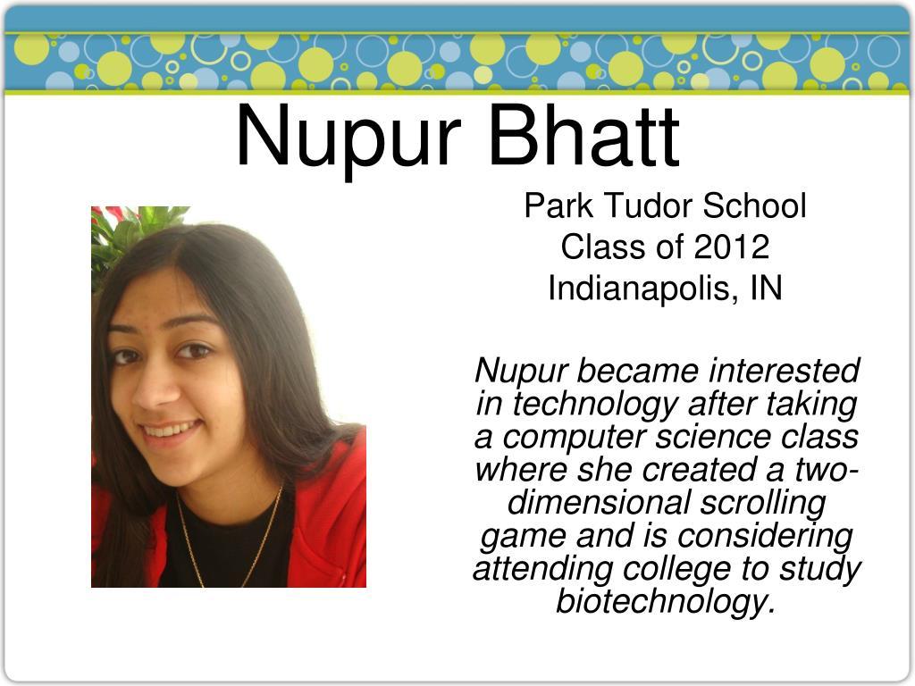 Nupur Bhatt