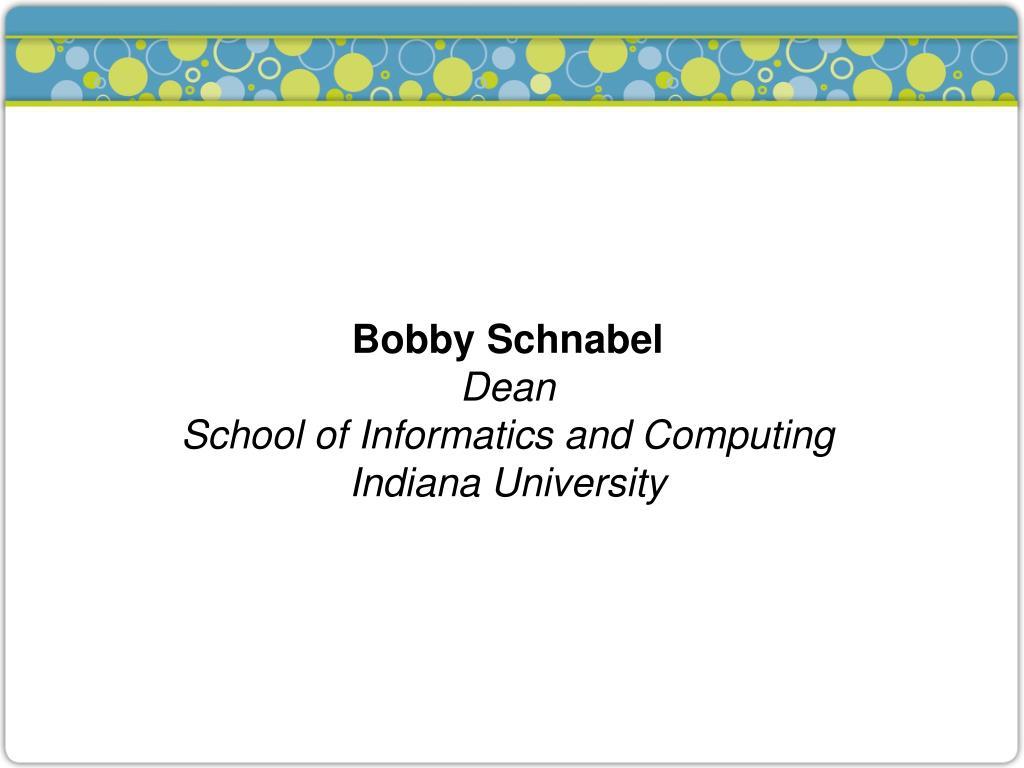 Bobby Schnabel