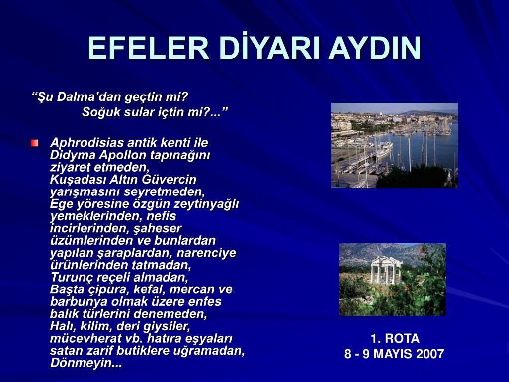 EFELER DİYARI AYDIN