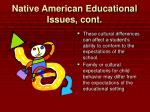 native american educational issues cont12