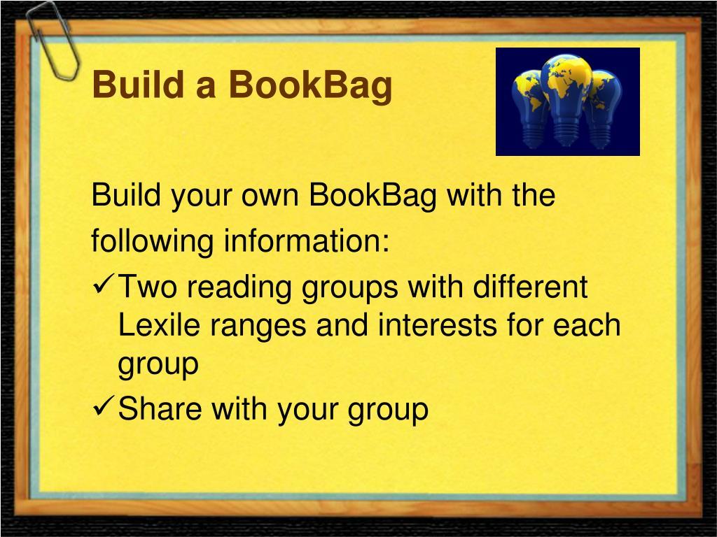 Build a BookBag