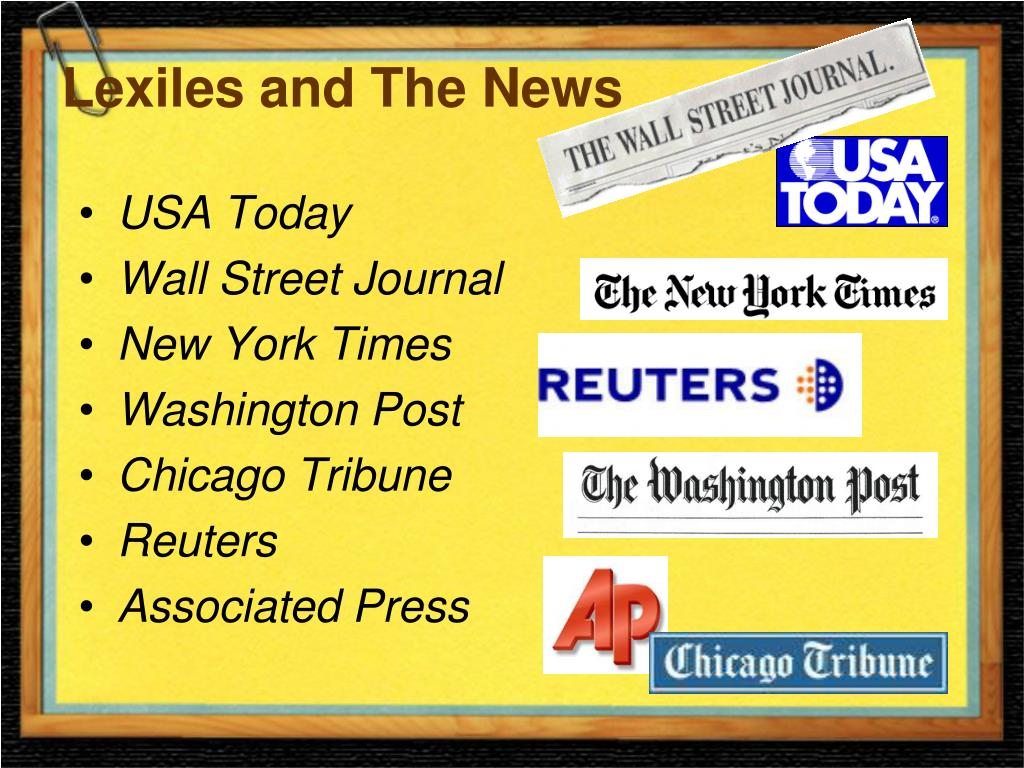 Lexiles and The News