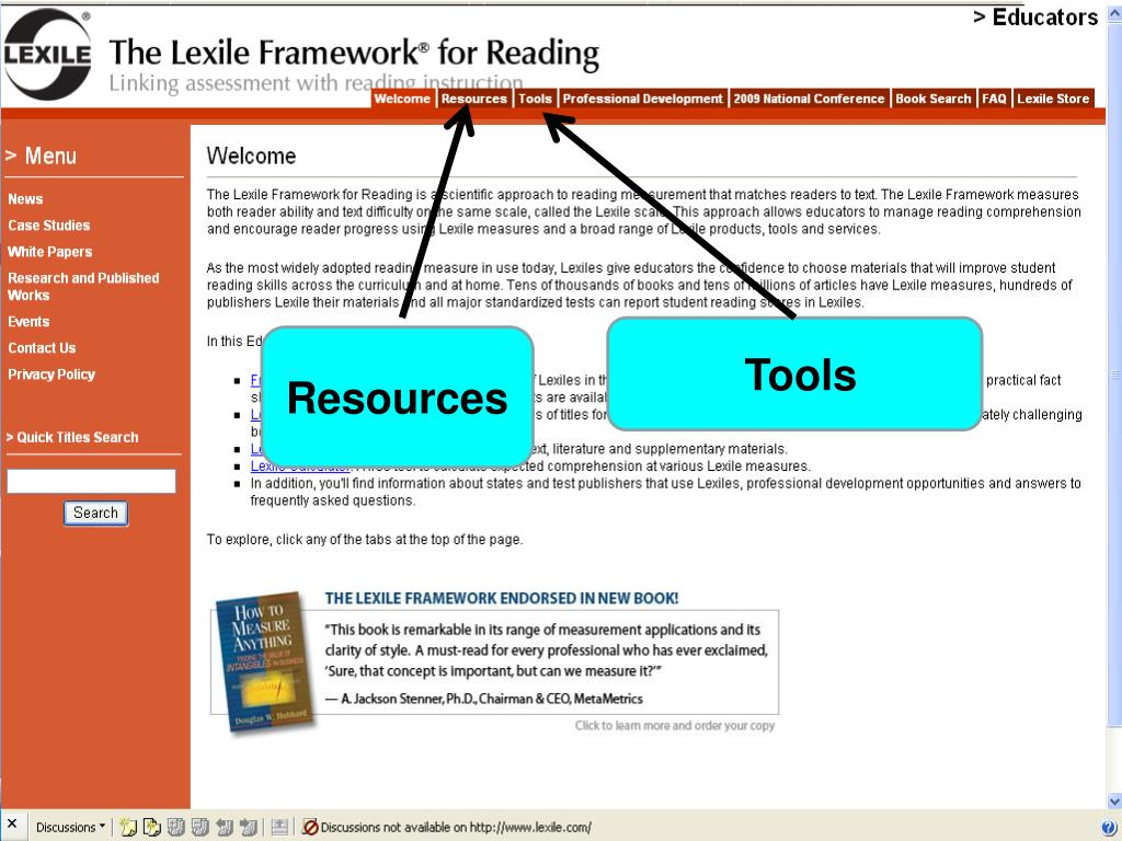 Resources and Tools for Educators
