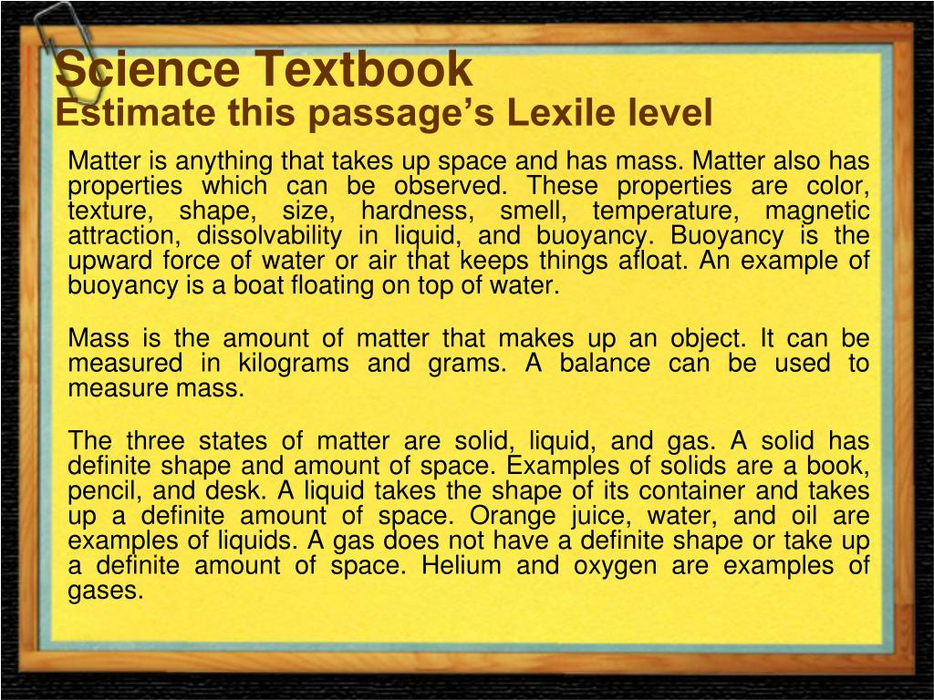 Science Textbook