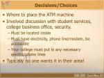 decisions choices14