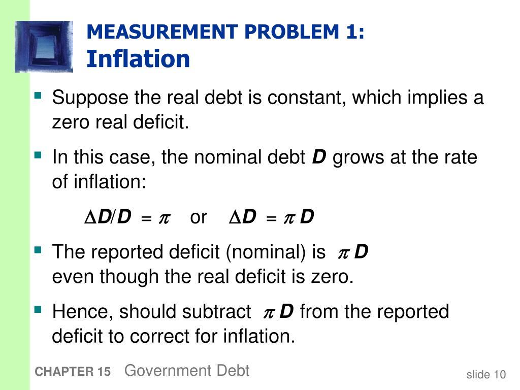 MEASUREMENT PROBLEM 1: