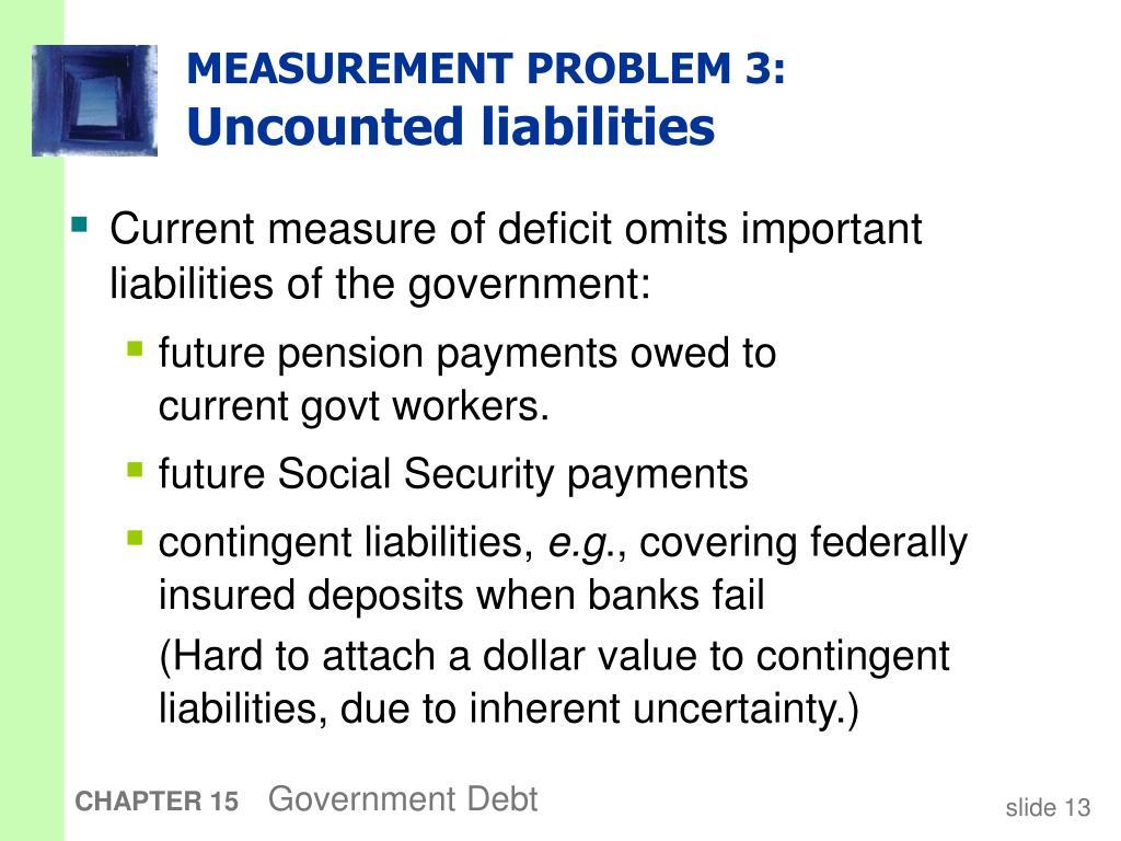MEASUREMENT PROBLEM 3: