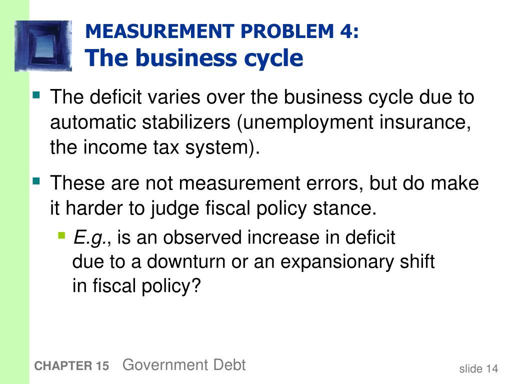 MEASUREMENT PROBLEM 4: