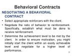 behavioral contracts51