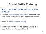 social skills training59