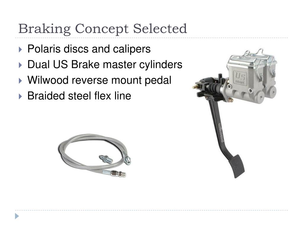 Braking Concept Selected